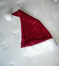NWT VICTORIA'S SECRET RED WHITE FUR TRIM SANTA HAT WOW! MERRY CHRISTMAS...