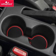 For Mazda 2 DEMIO 2014-2016 Car Gate slot Mat Non-slip Interior Door Pad/Cup 10*