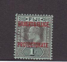 Fiji Overprint Gilbert & Ellice Islands Protectorate 1/- FU CV £70 SG7