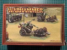 Warhammer Orcs Orks Goblins Orc Boar Chariot Ork Wildschweinstreitwagen New Neu