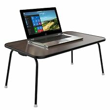 Home Puff Multipurpose Table - Laptop Table, Bed Table Foldable (Wenge)