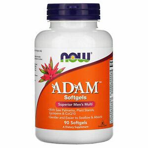 Now Foods Adam 90 SoftGels Superior Men's Multi-Vitamins Adam 90