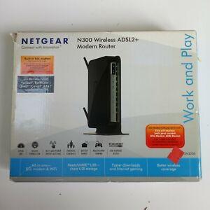 NETGEAR N300 Wireless DSL Modem Router(Built-in ADSL2 + Modem) model No. DGN2200
