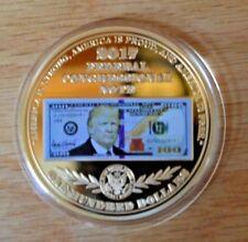 2017 Proof-President Trump $100 Banknote Commemorative Coin