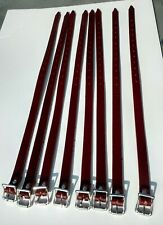 NEW Leather SKI Straps for PORSCHE 356 Leitz & Reutter Trunk Luggage Rack (8)