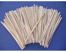 200 Skinny 6mm Wide Super Long 19cm Wooden Lolly Sticks for Crafts