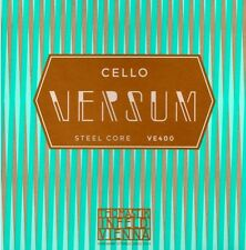 Genuine Thomastik Versum Cello String Set 4/4-- Tungsten G & C
