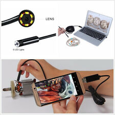 2-in-1 Mulfifunctional 5.5mm Car Truck LED Endoscope HD USB Inspection Camera 5M