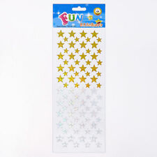 Fun Stickers Stars Gold / Silver 701