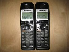 Lot of 2 Panasonic Kx-Tga931T 1.9 Ghz Cordless Expansion Handset Phone