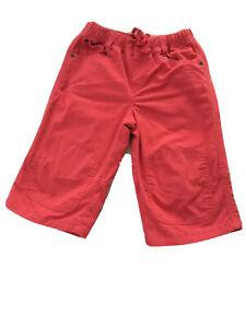 Mini Boden Boys 7-8 Years Long Shorts Adj Elastic Drawstring Waist Cotton