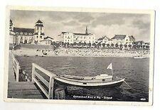 142 -binz , Rügen Spiaggia, circa 50er Menta