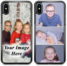 PERSONALISED PHONE CASE CUSTOM PHOTO HARD COVER PERSONALIZE WITH IMAGE CHRISTMAS