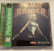 New listing tomb raider ps1