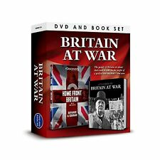 BRITAIN AT WAR HOME FRONT BRITAIN DVD & BOOK OF BRITAIN AT WAR BOX - GIFT SET