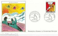1988**ENVELOPPE**FDC 1°JOUR!!**FOREST-BANDE-DESSINEE**TIMBRE Y/T 2510
