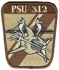 PSU 312 Port Security Unit desert W4831 USCG Coast Guard patch