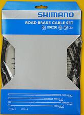 Shimano PTFE SIL-TEC Road Bike Brake Cable Housing Set Black
