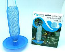 BOTTLE TOP BIRD WATER DRINKER STATION KIT ATTRACTS BIRDS THIRST AID FOR BIRDS