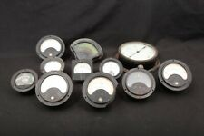 11x Steampunk Industrial Gauges Weston Ashcroft Beckman Volts RPM DC Milliamp
