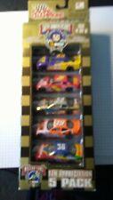 RACING CHAMPIONS, NASCAR FAN APPRECIATION5 PACK. RACE CARS. 1/64 SCALE