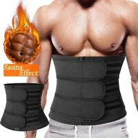 Men's Neoprene Abs Sauna Sweat Belly Slim Belt Gym Waist Trainer Trimmer Corset