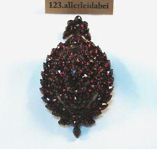 RAR Grenat Médaillon Pendentif Pour 1880 Old Garnet HOMOLOGUE Chaînes Remorque/AZ 367