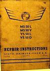 Puch Repair Instructions Manual  MS 50L- MS50V- VS50L- VS 50D  Combined Shipping