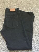 LEE COOPER BLACK DENIM JEANS MEN SIZE W34 L32