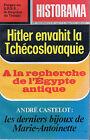 HISTORAMA N°294 hitler tchecoslovaquie mai 1976