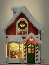 Bath & Body Works Santas Workshop Projector Christmas Wallflower Plug In Light