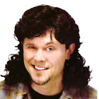 Mullet Wig Bogan 80s Fancy Dress Party Costume Rock Aussie Bogan Wig