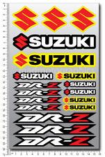 Suzuki DRZ 50 125 400 DR Z motorcycle decals sheet stickers Laminated DR-Z