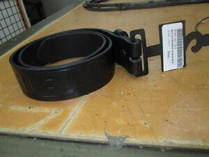 Harley Davidson Black Embossed Mens Leather Belt Strap Size 28 99440-06V