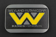 ALIENS WEYLAND YUTANI CORP BELT BUCKLE METAL COVENANT PROMETHEUS
