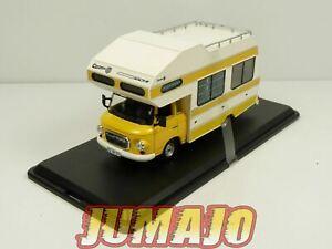 PRX4 1/43 IXO IST 298MR : BARKAS B1000 Wohnmobil 1973 jaune camping car