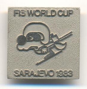 PRE OLYMPIC  SARAJEVO 1983 FIS WORLD CUP   VUCKO MASCOT as skier