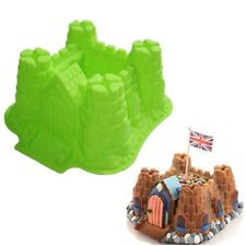 Cake Mold Large 3D Castle Silicone Cake Baking Pans Bread Bakeware DIY Tray Mold