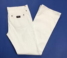CNC jeans donna W30 tg 44 zampa bootcut vintage svasati usato bianco campana