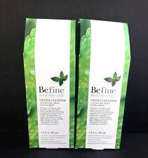 2 Befine Gentle Cleanser w/ Sugar Mint, Oats & Rice- 3.4 oz each