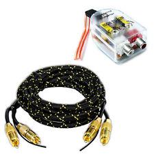 High low level converter altavoces en cinch con 3m cinch-cable