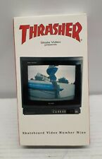 Thrasher Raw VHS Skateboard Video Number 9 Rare