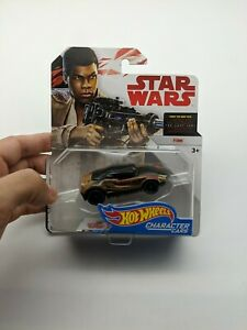 Hot Wheels Star Wars Finn Character Cars Vehicle,DIE CAST,DISNEY,SEALED,NEW