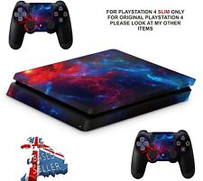 NEBULA 4 PS4 SLIM **TEXTURED VINYL ! **PROTECTIVE SKINS DECALS WRAP STICKERS