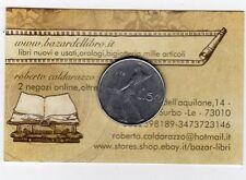 repubblica moneta 50 lire 1978 con errore conio manca prima cifra anno -