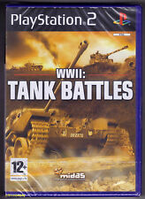 PS2 WWII Tank Battles (2006), UK Pal, Brand New & Sony Factory Sealed
