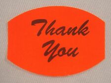 1000 Self Adhesive Thank You Labels Stickers Retail Store Supplies
