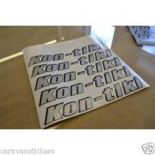 SWIFT Kon-tiki - (2002) - Motorhome Rear Name Sticker Decal Graphic - SINGLE