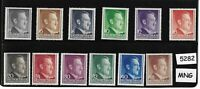 Mint Adolph Hitler stamp set / 1941 issues / Third Reich / Occupied Poland WWII