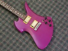 Vintage 1981-82 BC Rich USA Mockingbird Guitar! RARE Violet! 1st w/2 vol,2 tone!